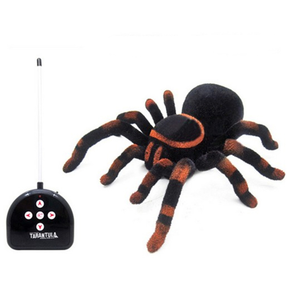 Brand New High Quality Halloween Remote Control 11 2ch Infrared Realistic Rc For Spider Toy Prank Gift Kids Toy 100% Guarantee Electronic Toys