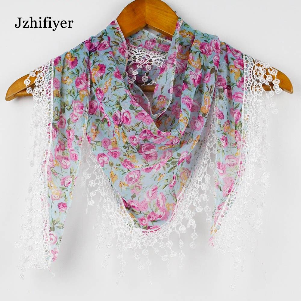 Fashion femmes long en coton imprimé foulard wrap femmes châle Filles grandes écharpes