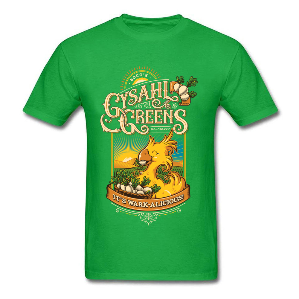 Young Funny Printed On Tees Round Neck NEW YEAR DAY Pure Cotton T-Shirt Cool Short Sleeve Wark alicious Tops T Shirt Wark alicious green