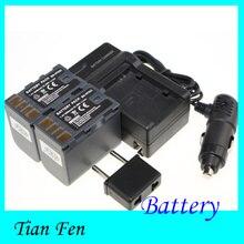 Alta qualidade 2 pcs bateria + carregador bn-vf823 bn vf823 bnvf823 bateria de íon li recarregável para jvc gr-d770 gr-d771 gr-d775