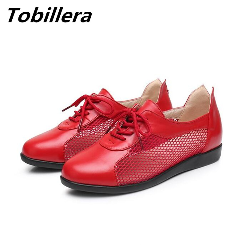 Tobillera Autumn Summer Breathable Side Cutout Lace Up Casual Shoes Plus Size Round Toe Flat Heel Comfortable Mother Footwear new 2016 spring autumn summer fashion casual flat with shoes breathable pointed toe solid high quality shoes plus size 36 40