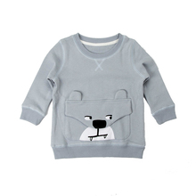 baby girl autumn winter cartoon hoodies new children clothing pocket cotton girls sweatshirts