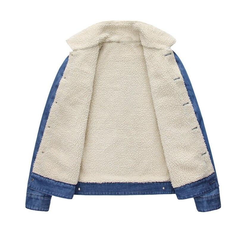 Veste Jean Coton Bleu Vestes Automne 2016 Survêtement Col Denim Et 100 Montant Épais D'hiver Pour Hommes wqXqnISOZ