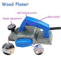 Machine Of Carpentry 220V Wood Planer 1000W High Power Multi Function Electric Planer