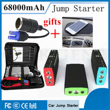 Car Jump Starter 68000mAh Portable Starting Device 12V Petrol Diesel Car Charger For Car Battery Booster Buster With OBD2 Gift
