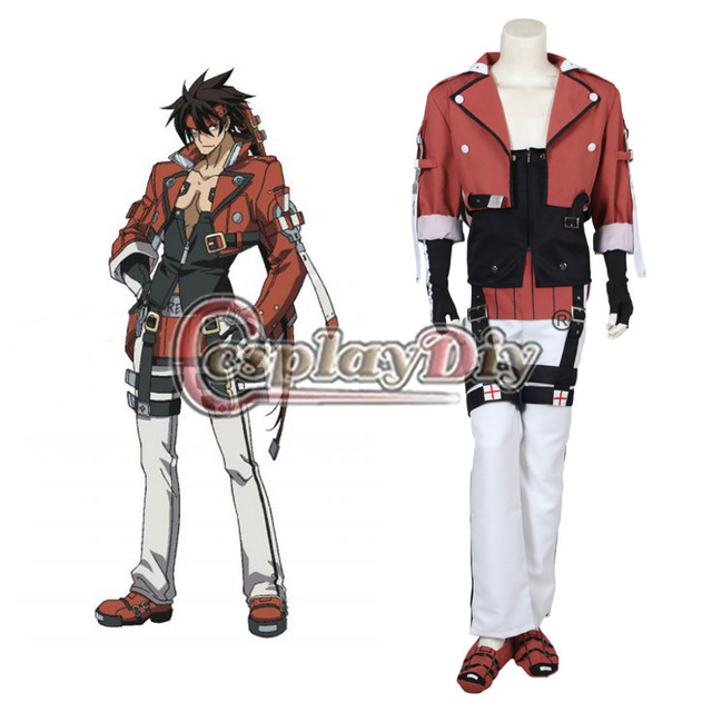 Cosplaydiy SOLBADGUY GuiltyGear Cosplay Costume Adult Men Halloween Carnival Costumes Outfit Custom Made D0331
