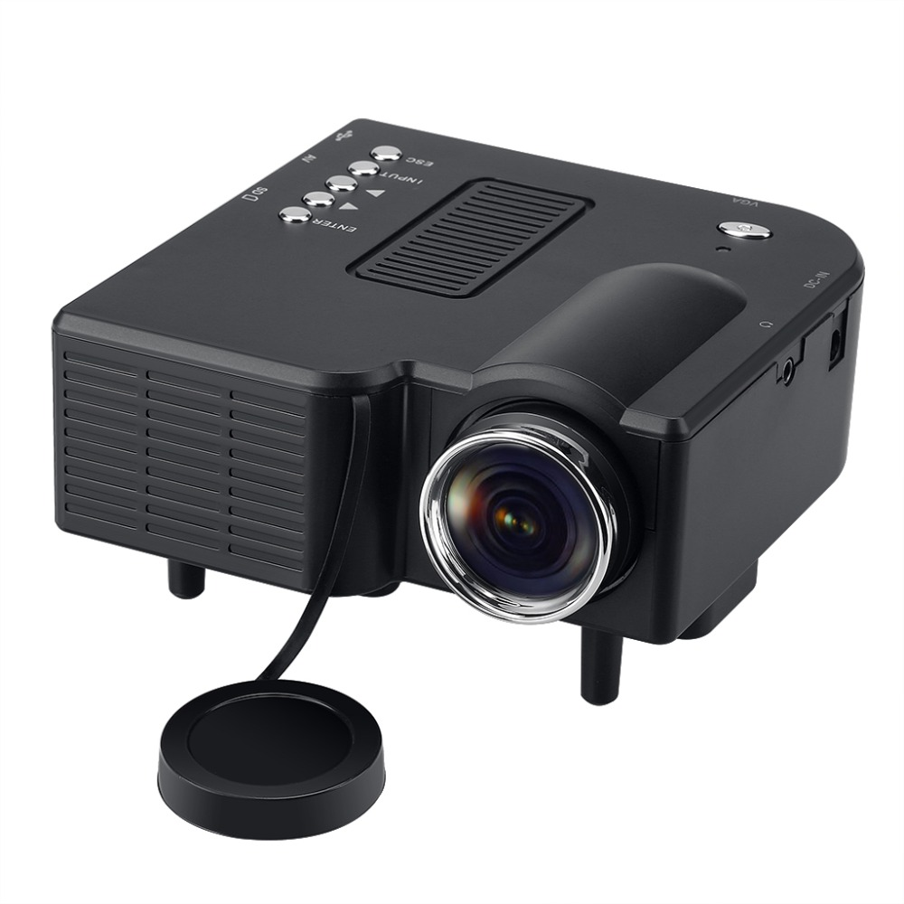 Buy excelvan led lcd portable mini for Usb projector reviews
