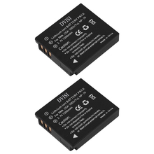 2Pcs/lot 1.5Ah CGA-S005 S005 BCC12 CGA-S005E DMW-BCC12 Battery for Panasonic Lumix DMC-FX180 DMC-LX1 DMC-LX2 LX3 FS1 FS2 FX01