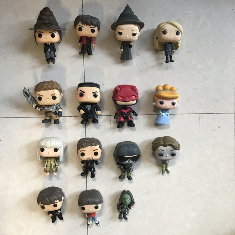 Imperfect Funko Pop Harry Potter, Mcgonagall,stranger Things, Alice, Luna, Daredevil Vinyl Action Figures Collectible Model Toy