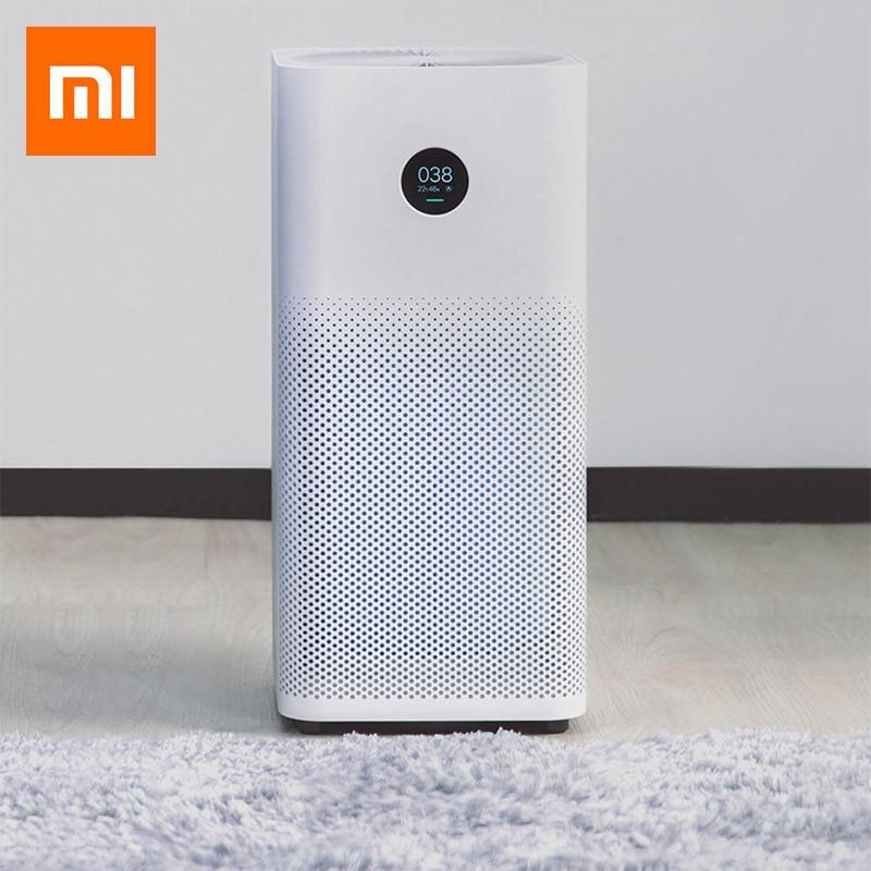 Original Xiaomi Mi Air Purifier 2S App Control Triple-layered Hepa Filter Air Purifiers Home Control Low Noise Purifier Cleaner