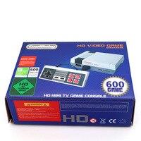 CoolBaby 5 50 шт./лот Ретро Классический игровой консоли ностальгия HDMI Выход 8 бит встроенный 600 различных игр двойной геймпады