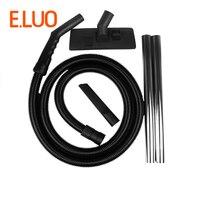 Outer Diameter 40mm Vacuum Cleaner EVA Hose + Straight pipe+Floor brush and nozzle for 15L 30L Industrial Vacuum Cleaner parts