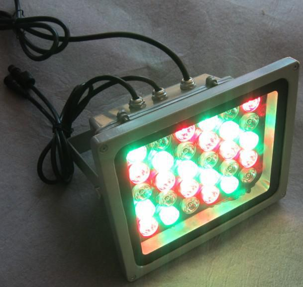 18W/30W/48W led rgb floodlight IP65 DMX RGB controlled, outdoor lighting RGB led flood lamp, 18w led flood lights