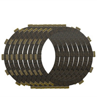 Motorcycle Clutch Friction Plates Set For YAMAHA YZ450F YZ450 F 2007 2012 Clutch Lining CP 00017