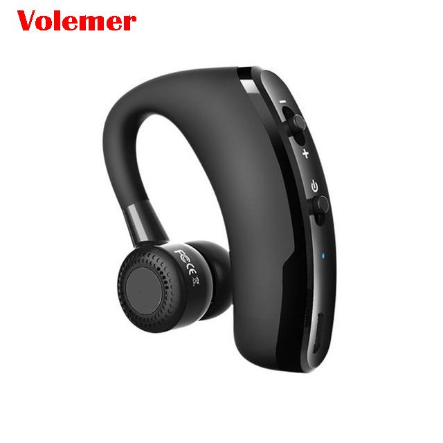 Volemer V9 Handsfree Business Bluetooth Headphone With Mic Voice Control Wireless Bluetooth
