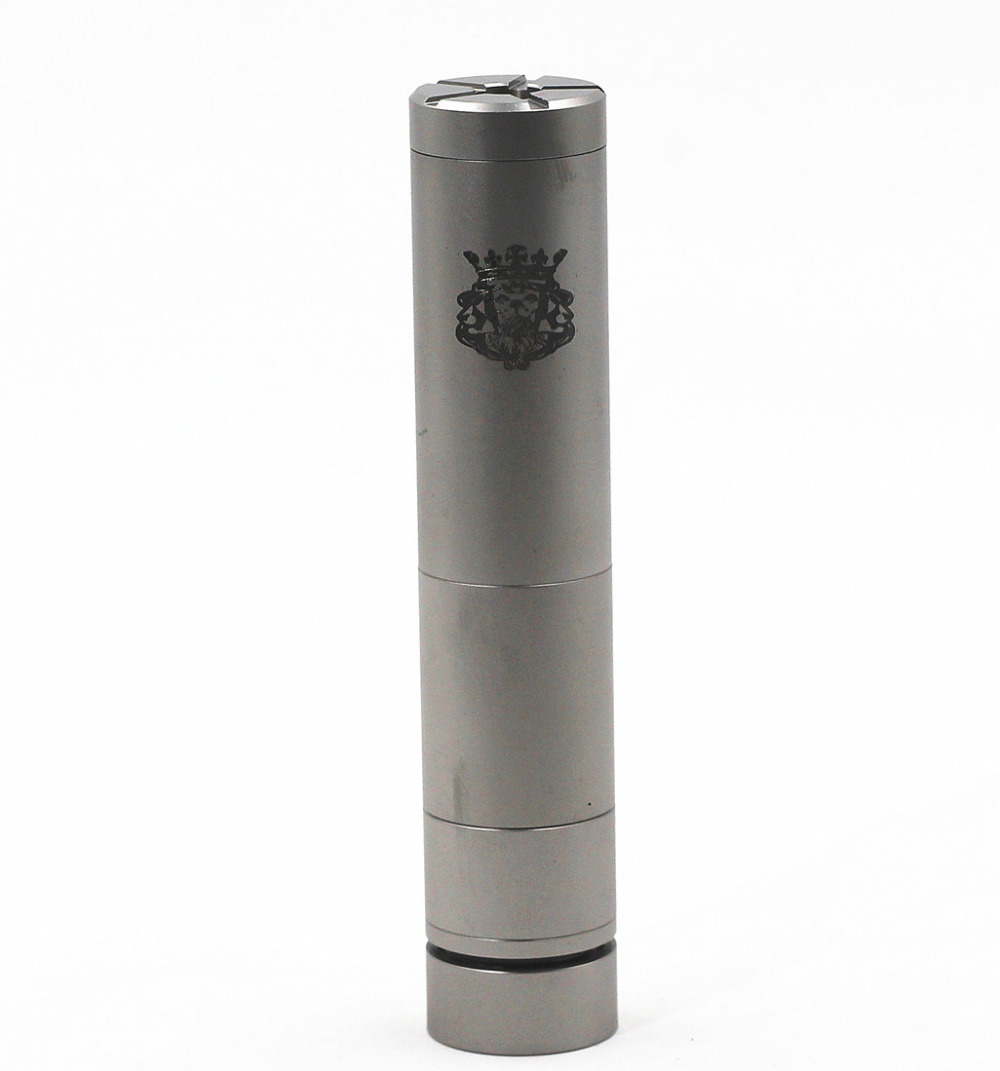 KING V2 Mech Mechanical <font><b>Mod</b></font> 18350/18500/<font><b>18650</b></font> Battery Vaporizer Vapor <font><b>Vape</b></font> Body vs Nemesis SMPL <font><b>Mod</b></font> image