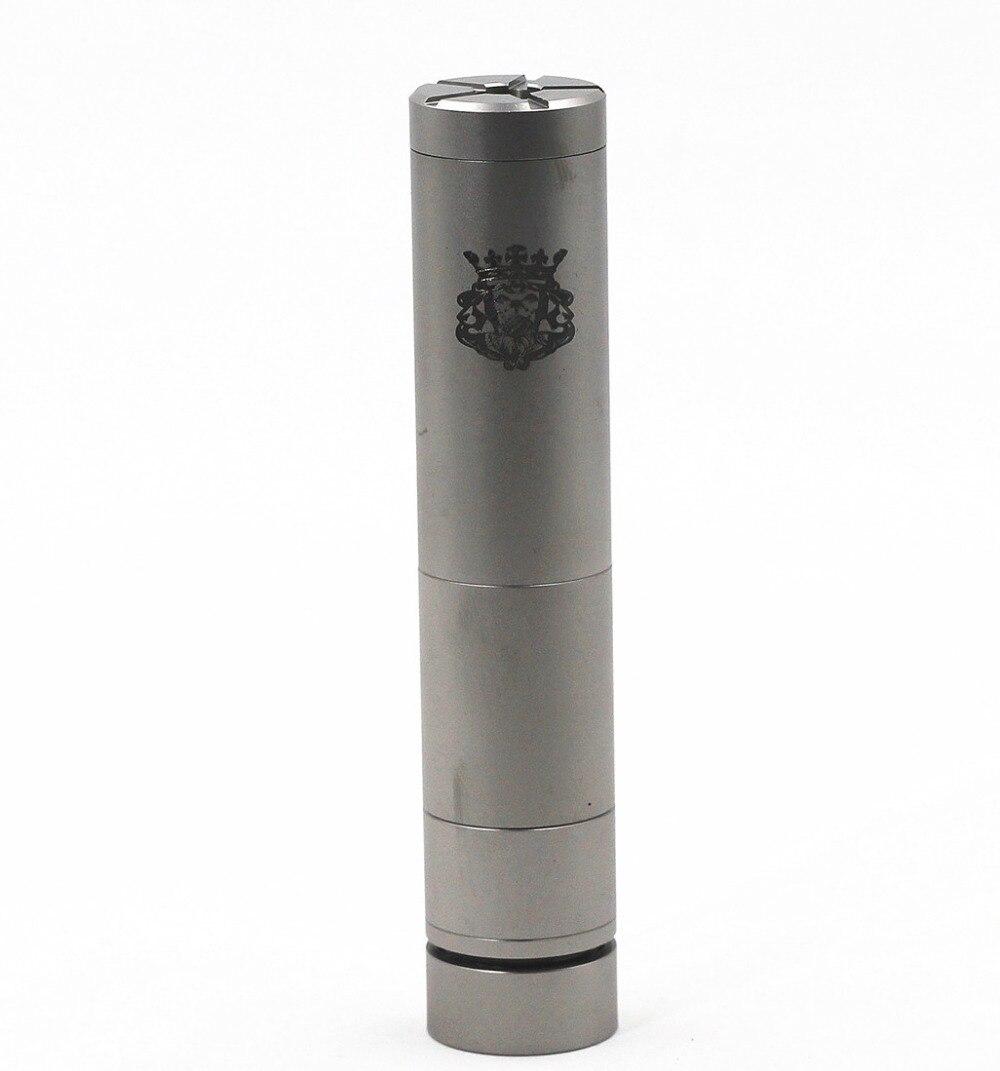 Rey V2 Mech Mod mecánica/18350/18500/18650 batería vaporizador Vapor Vape cuerpo del Némesis SMPL Mod