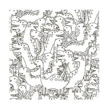 AZSG Cute little head dinosaur Clear Stamps For Scrapbooking DIY Clip Art /Card Making Decoration Crafts