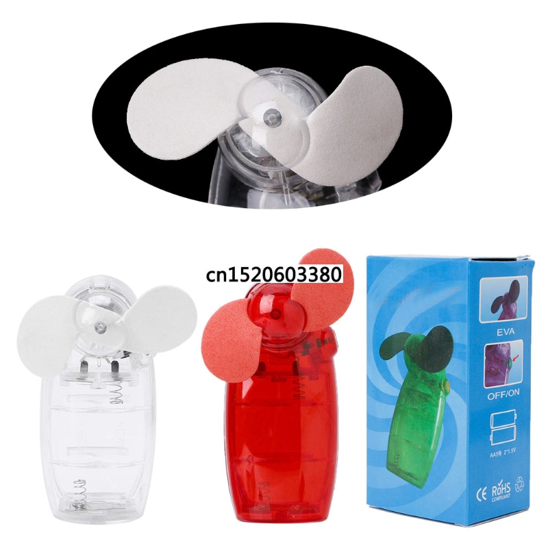Free_on Portable Mini Pocket Fan Cool Air Hand Held Battery Travel Holiday Blower Cooler Relieving Rheumatism Small Air Conditioning Appliances Home Appliances