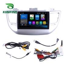 Восьмиядерный 1024*600 Android 8,1 автомобильный DVD gps навигатор плеер Deckless стерео для hyundai TUCSON- радио головное устройство