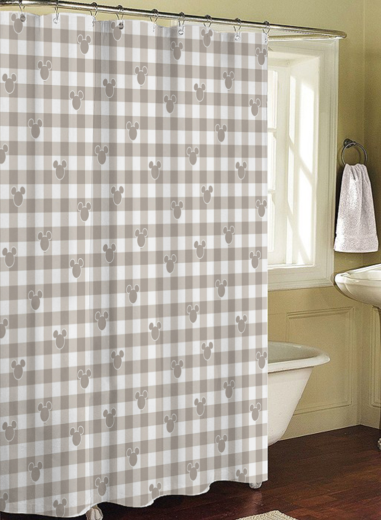 4503 bathroom products fabric shower curtain