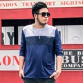 Top Quality Oversized Mens T shirts Fashion 2016 Luxury Brand Long Sleeve 5XL 6XL 7XL O-Neck Mens T-shirt Big Size Hot Sale