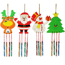 2019 HOT! Christmas Creative Wind Bell For White Wood Dropshipping YH-460982