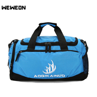 Sport Gym Bag With Shoes Compartment Men Woman Fitness Bags Durable Multifunction Handbag Training Gym Bag