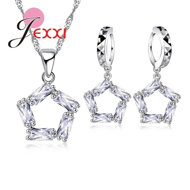 CZ Pentagram Necklace...
