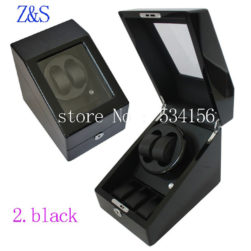 Free shipping 2018 new luxury rotary automatic rotating wooden watch winder display box high gloss piano paint watch winder box luxury automatic watch winder box 4 6 mechanical watch winder wood gloosy leather with lock exw drop shipping oem factory supply page 3