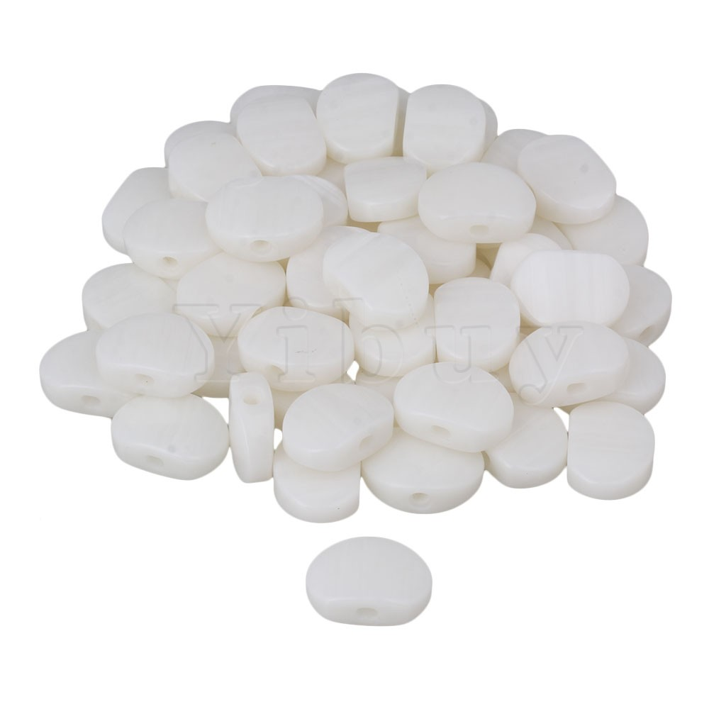 Yibuy 300 x Guitar Machine Head Buttons Pearloid Oval Acrylic For Ukulele White asus p5k se epu original used desktop motherboard p35 socket lga 775 ddr2 8g sata2 usb2 0 atx