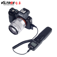 VILTROX Timer Remote Control Shutter Intervalometer with S2 Cable for SONY alpha A9 A7m3 a7R3 A7RII A7MII A7SII A6500 A6300