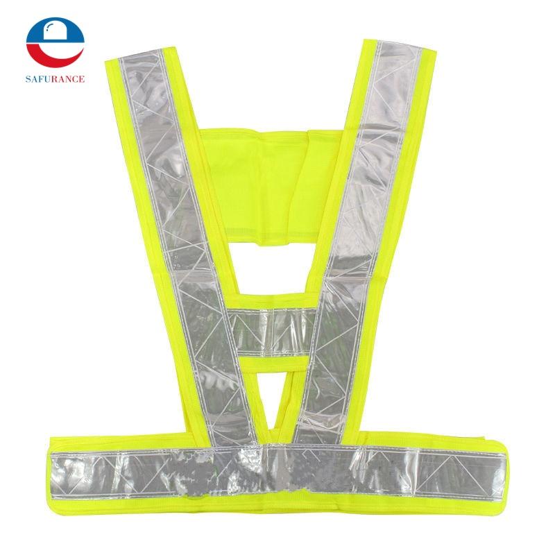 2018 New Kids Reflective Vest Adjustable Safety Security Visibility Gear Stripes Jacket Safety Equipment