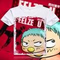 Belzebu de Anime Cosplay camiseta moda homens mulheres cobre T