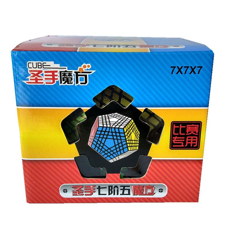 7x7 Megaminx 7x7x7 Magic Cube Teraminx 7x7 профессиональный куб додекаэдра Twist Puzzle образовательные игрушки - 5