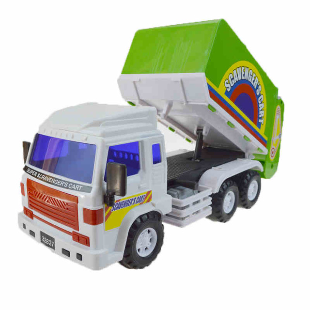Vehicles Children Toys Large Inertia The Garbage Sanitation Plastic Trucks Cleaning Sweeper Truck Model Car Boy Funny GiftsVehicles Children Toys Large Inertia The Garbage Sanitation Plastic Trucks Cleaning Sweeper Truck Model Car Boy Funny Gifts