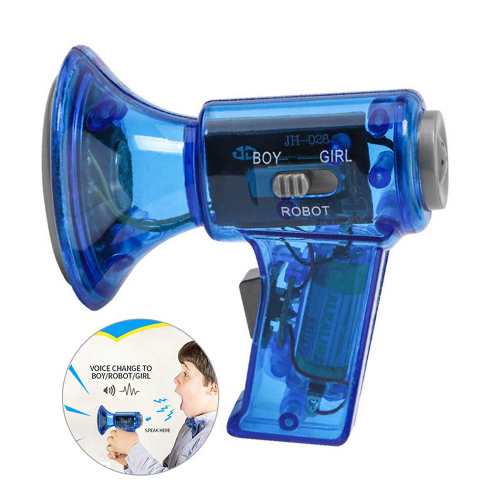 Tiny Voice Changer Sound Effects Megaphone Loudspeaker Horn Amplifier Kid Toy