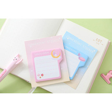 1pack /lot Lovely cartoon Series Memo Pad Sticker Message self-adhesive nice gift stationery
