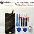 Tela de lcd para meizu m2 mini novo lcd de alta qualidade display + touch screen para meizu m2 mini 5.0 polegadas do smartphone em estoque