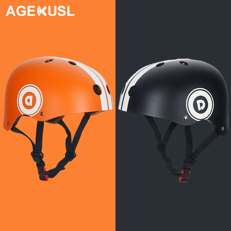 AGEKUSL Child Kids Protective Gear 7 in 1 Sports Helmet Knee Elbow Wrist Support Guards Pad Cycling Bike Bicycle Scooter Skating