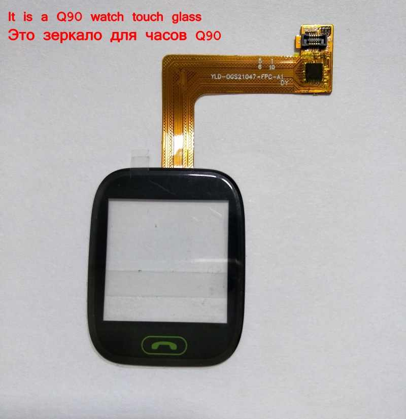 touch glass screen for Q90 G72 kids watch 1.22 inch DY version It requires professional welding for installation