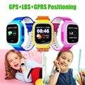 Q90 original gps smart watch reloj bebe sos pantalla táctil de Localización de llamadas DeviceTracker de Seguros para Niños Anti-Perdido Monitor PK Q80 Q60