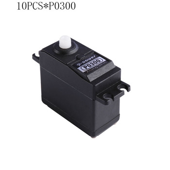 10PCS K-power P0300 Analog Servo 3kg JR plug Plastic Gear servo Standard size servo for RC Model part