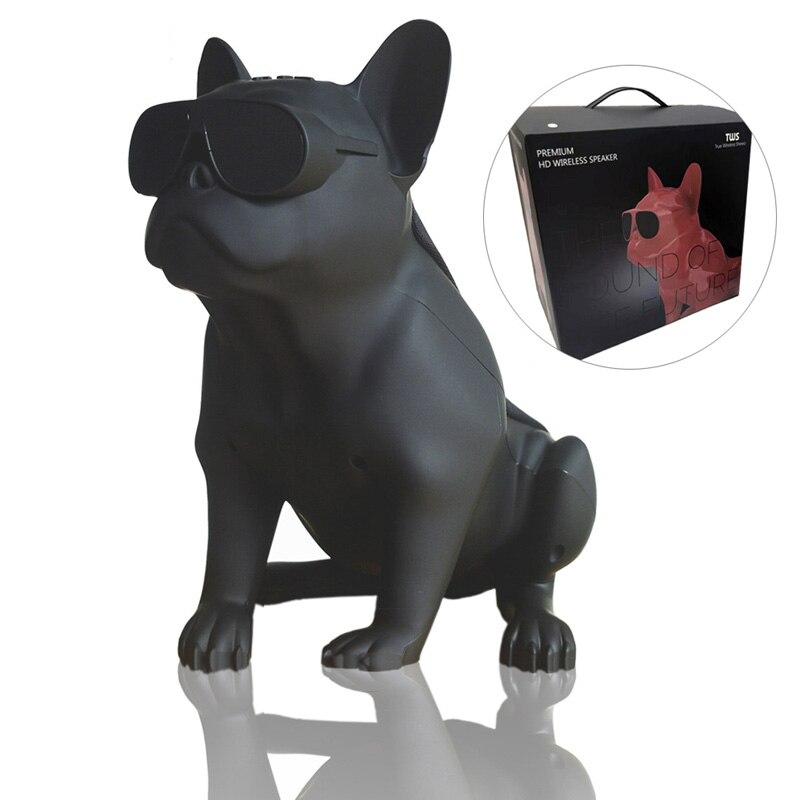 Aerobull Frenchie Full Body Bulldog Wireless Bluetooth Speaker Deep Bass Bulldog Speaker Subwoofer Multipurpose TF AUX FM Radio