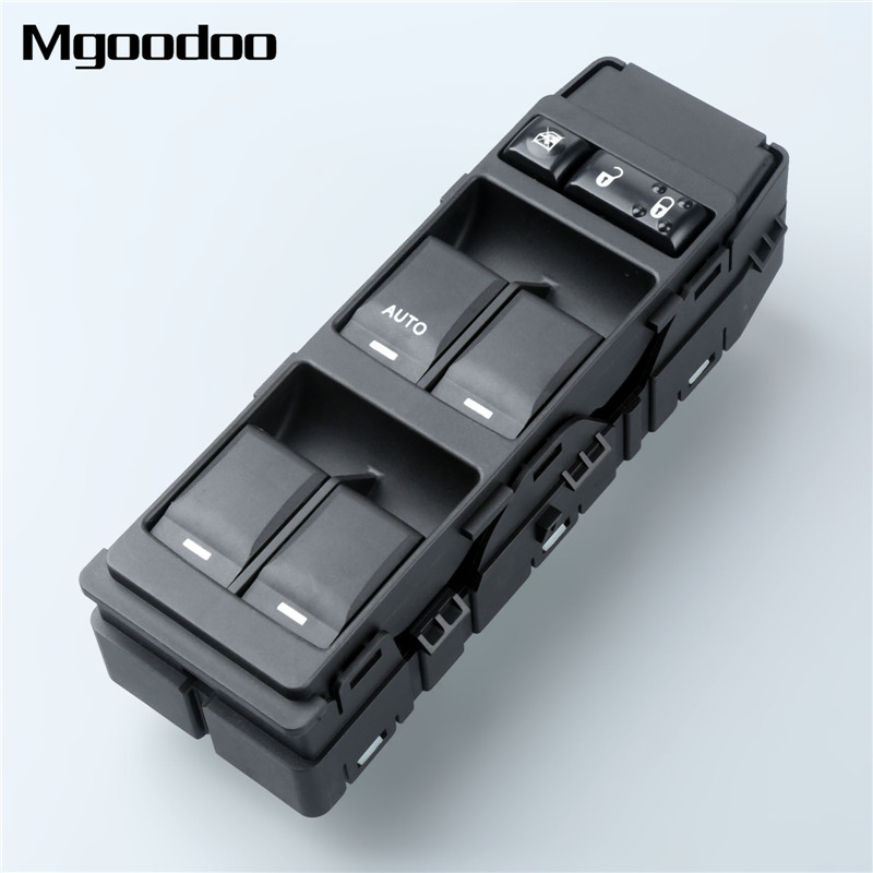 Mgoodoo Power Master Window Control Switch Front Left Side 04602780AA 04602780AC For Chrysler Dodge Jeep(China)