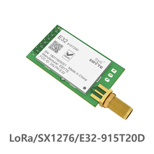LoRa 915MHz SX1276 rf  TCXO E32-915T20D Transceiver Wireless Module ebyte Long Range  iot UART 915 Mhz  rf Transmitter Receiver 868mhz sx1276 lora 100mw serial port wireless transceiver e32 868t20d 868 mhz iot module rf transmitter receiver sma connector