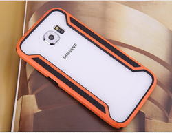 Nillkin Armor-Border Series Phone Case Cover For Samsung Galaxy S6 Bumper Case Luxury Style Ultra-Thin +Retail Package