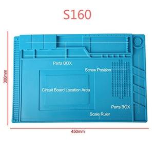 Image 5 - ESD Heat Insulation Working Mat Heat resistant BGA Soldering Station Repair Insulation Pad Insulator Pad Maintenance Platform