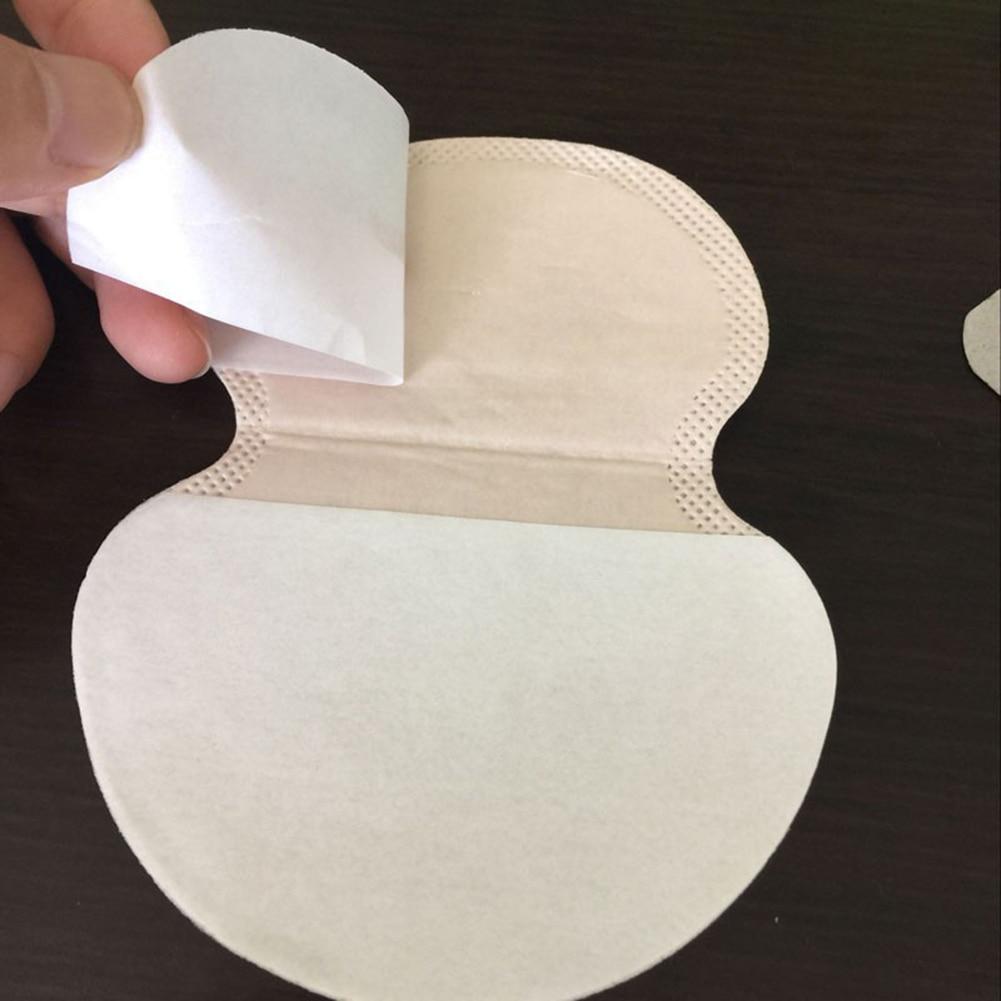 20pcs Summer Disposable Armpit Sweat Pads Underarm Guard Pads Deodorant Stop Perspiration For Clothing Gaskets Men Women