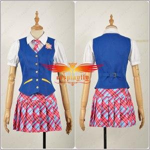 Image 2 - Anime Princess Charm School Sophia Hana Song Blair Willows JK Uniform Adult Cosplay Costume Clothing Outfits Halloween